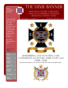Dixie Banner Summer Extra 2013