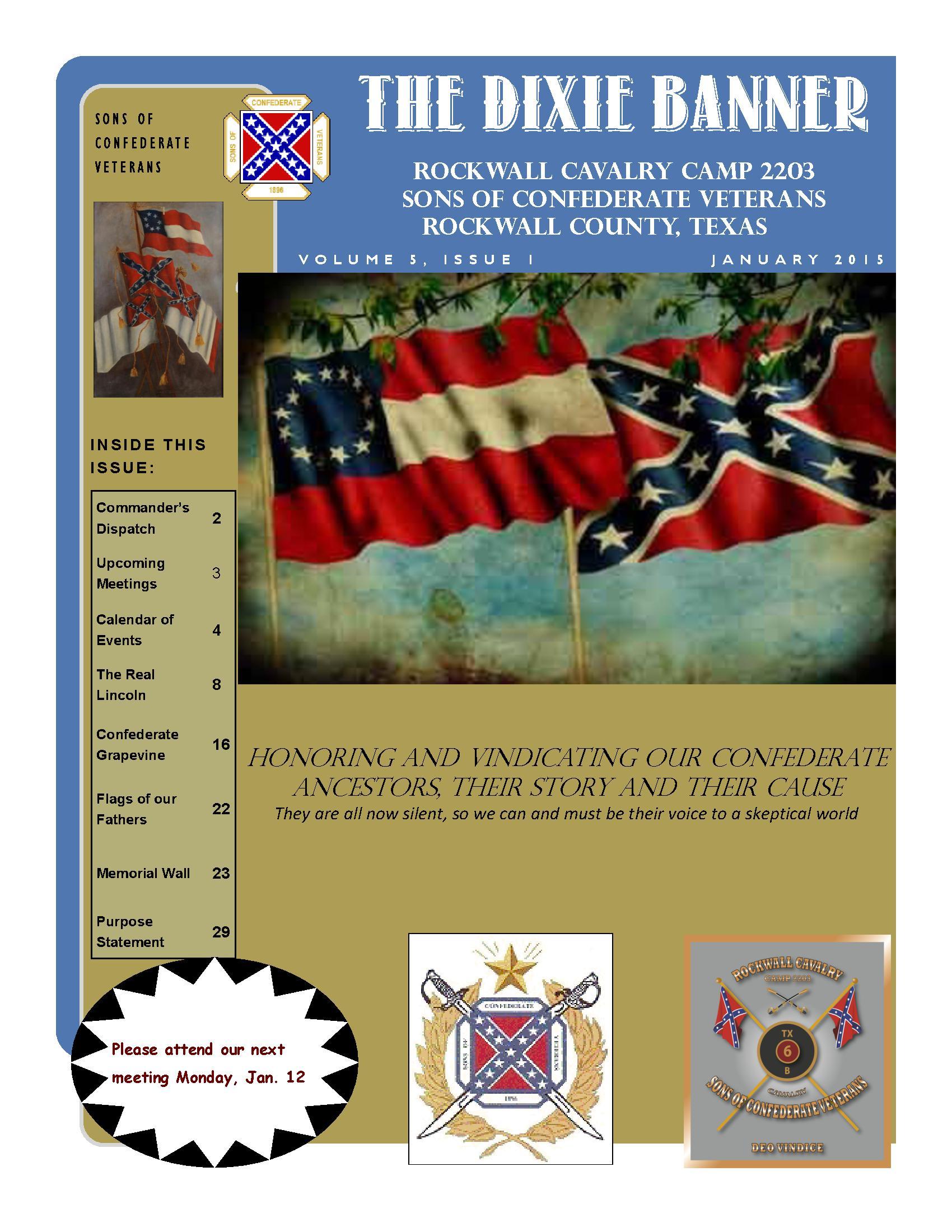Dixie Banner September 2014