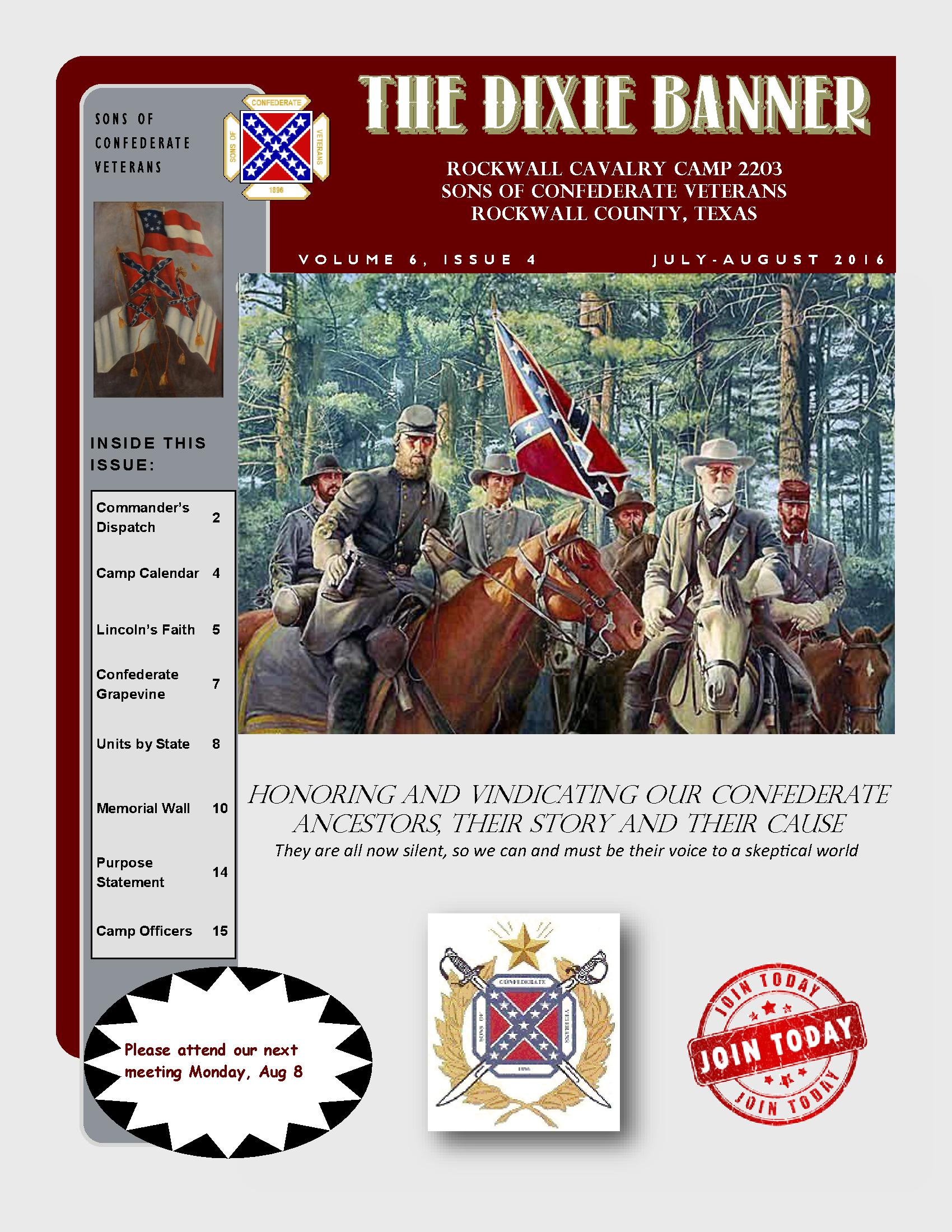 Dixie Banner March & April 2016